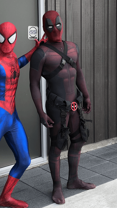 Deadpool and Spiderman - SuperFun Parties Costume