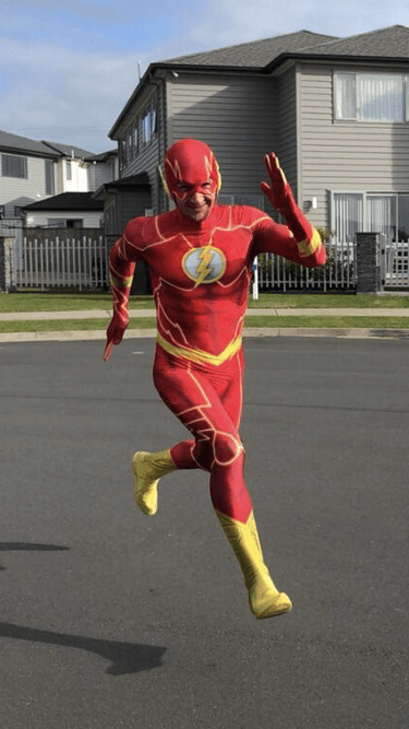 Flash Costume