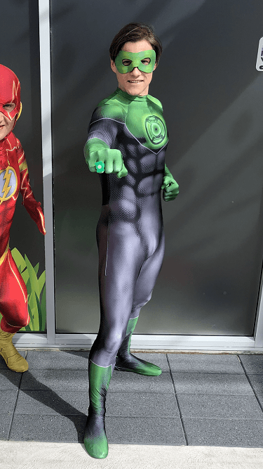 Green Lantern- SuperFun Parties Costume
