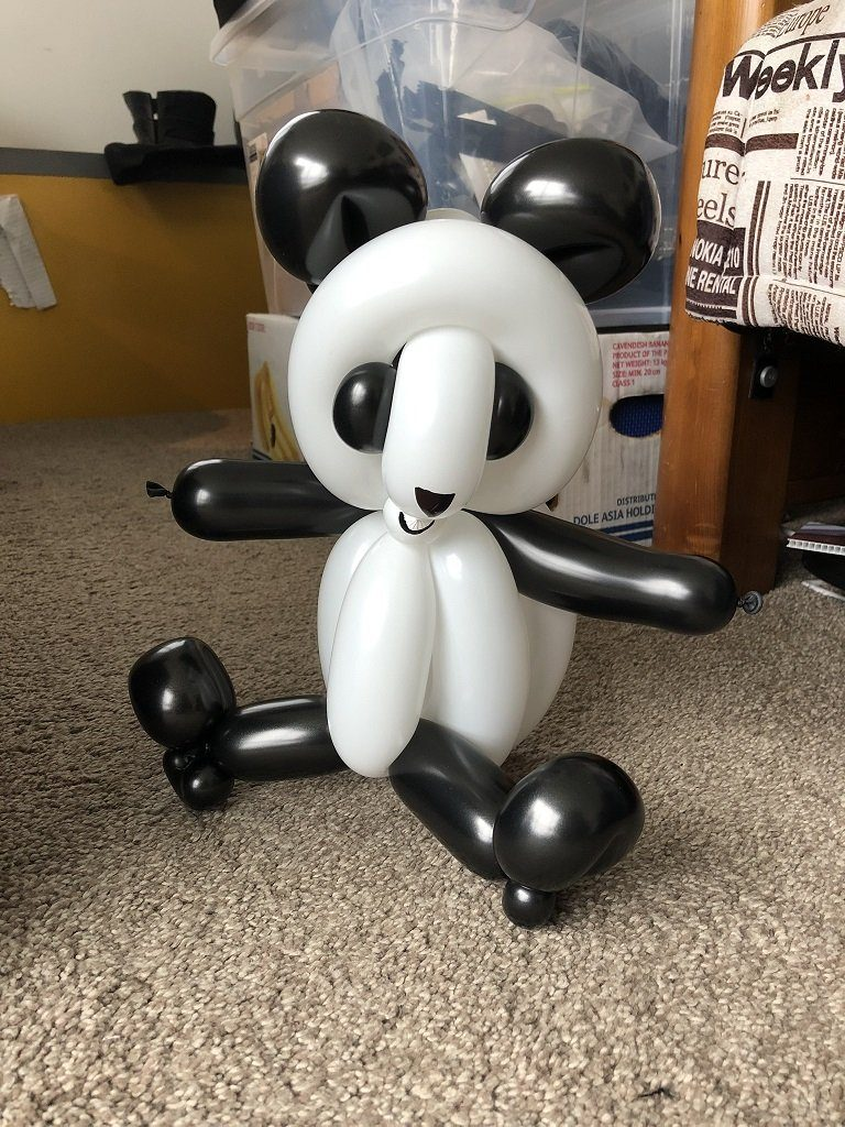Panda Balloon - SuperFun Parties