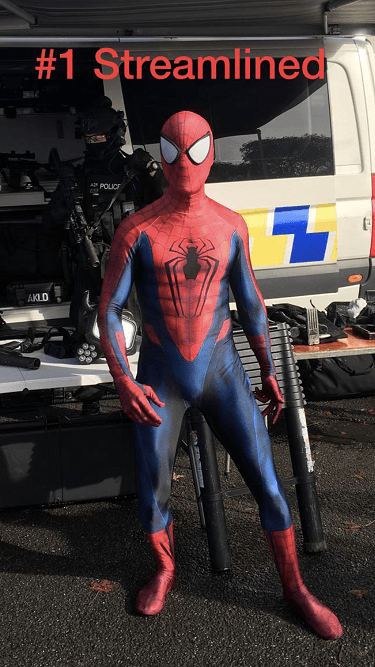 SuperFun Parties - Spiderman Costume (2)