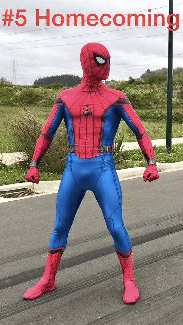 SuperFun Parties - Spiderman Costume (6)