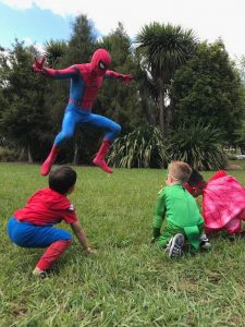 Spiderman kids party