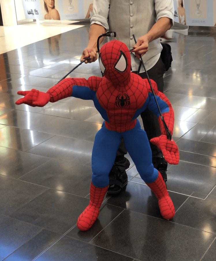 Spiderman Puppet