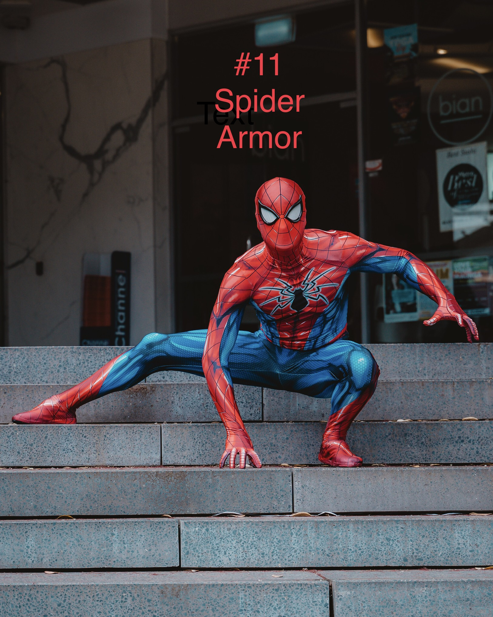 Spiderman - Spider Armor