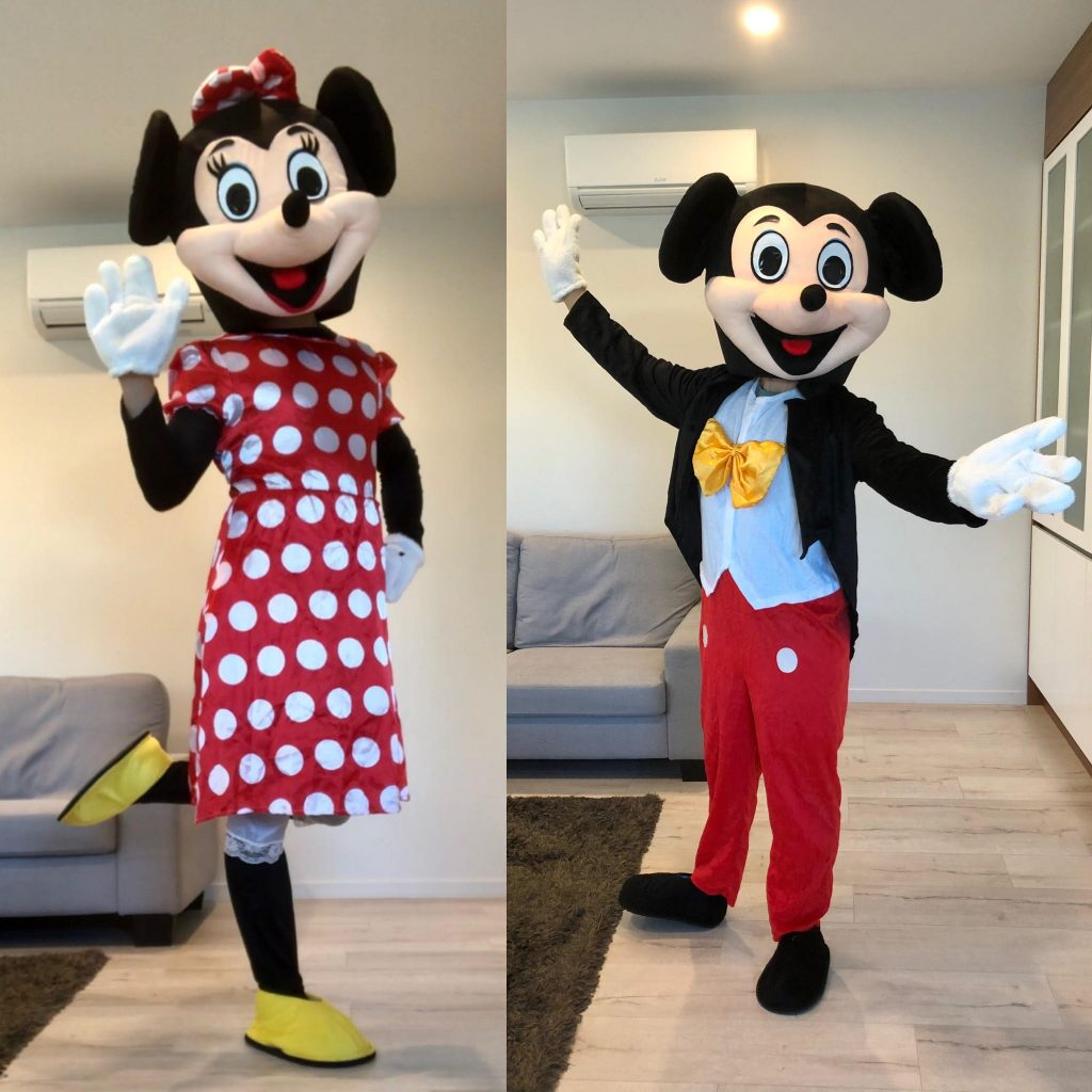Mickey and Minnie Costume - SuperFun Parties