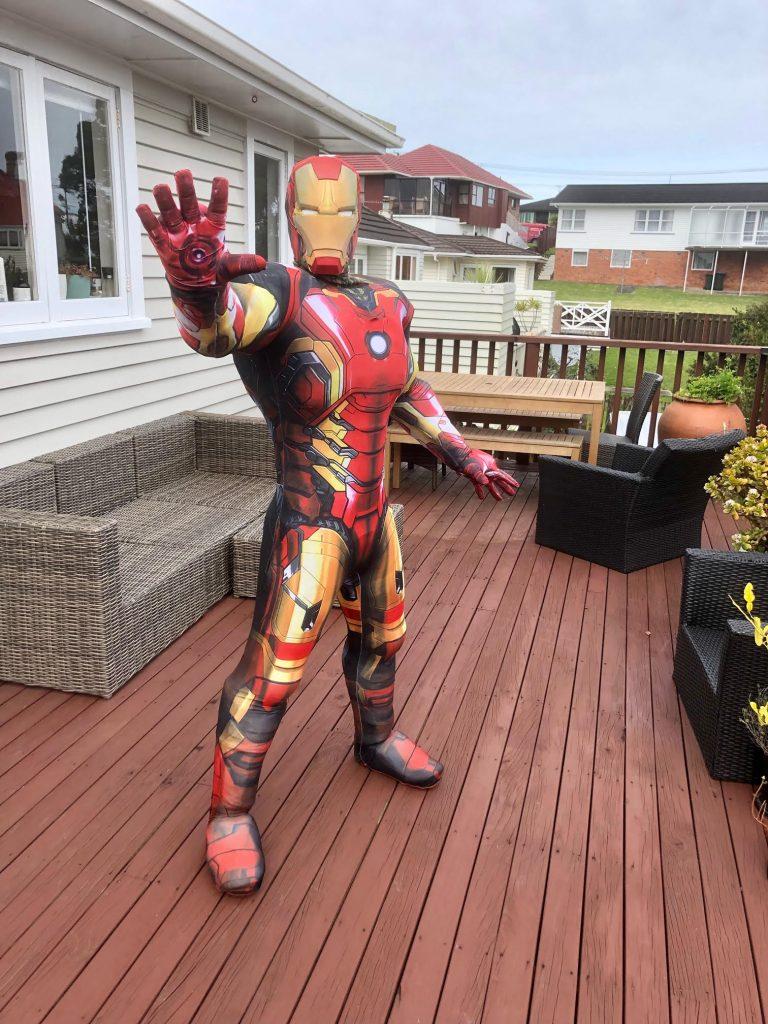 Iron Man -SuperFun Parties